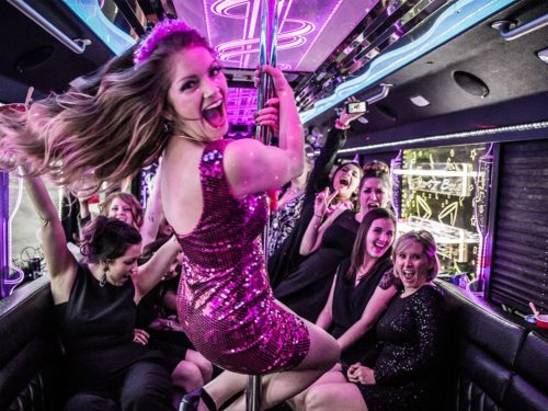 Limo Bus Bachelorette Party
